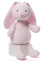 Stipes and Dots Brynlee Bunny Plush