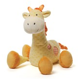 Stripes and Dots Grigsby Giraffe Plush