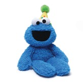 Happy Birthday Cookie Monster Plush