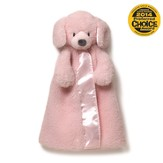 Dog Huggybuddy Plush in Pink