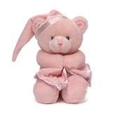 My First Teddy Keywind Musical Toy in Pink