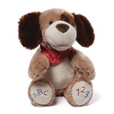 ABC 123 Sound & Motion Doggy Plush