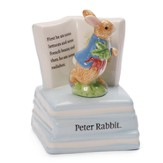 Classic Peter Rabbit Keywind Musical Figurine