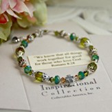Peridot ...We know that all things work together...Bracelet