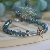 Believe in Heavenly Things Angel Bracelet