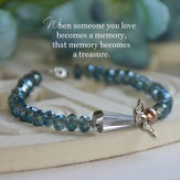 Angel Memory Bracelet with special message