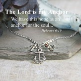The Lord is my Anchor Necklace