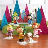 Peanuts Christmas Tree Lot, 7 Piece Set