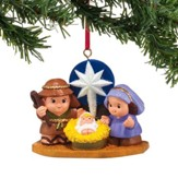 Little People Nativity Ornament
