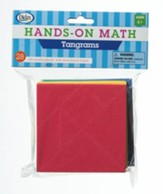 Hands-On Math Tangrams, 28 Pieces