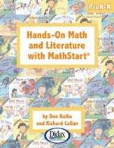 Hands-On Math and Literature with MathStart Level 1 (PreK-K)