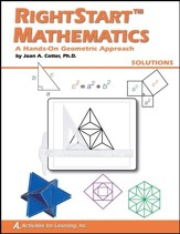 RightStart Math A Hands-On Geometric Approach Solutions