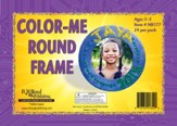 Faithbook VBS: Color-Me Round Frame, pack of 24