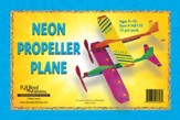 Faithbook VBS: Neon Propeller Plane, pack of 12