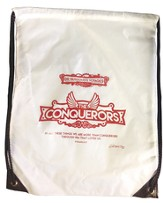 The Conquerors VBS 2016: Nylon Drawstring Backpack