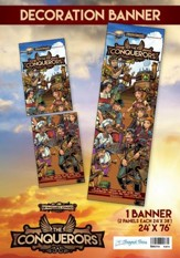 The Conquerors VBS 2016: Decoration Banner