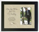 Just Like Daddy Photo Frame, Black