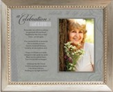 Celebration of Life, Framed Print, Silver