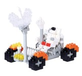 Nanoblock Sights To See, Lunar Rover