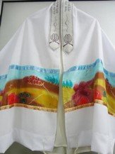 Jerusalem Sunset Prayer Shawl