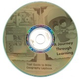 Trail Guide to Bible Geography Lapbook CD-Rom