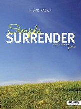 Simple Surrender: Bible Study for Girls, DVD Leader Kit