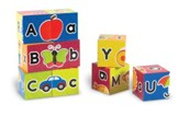 Alphabet Puzzle Blocks, Set of 9