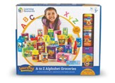 A to Z Alphabet Groceries, 31 Pieces