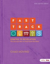 Fast Track: Genesis to Revelation: The Quickest Way to Understand the Bible (Kids Edition), Member Book