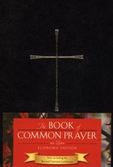 The Book of Common Prayer, Economy Edition, black hardcover