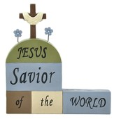 Jesus Savior Of the World, Block Figure