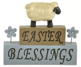Easter Blessings, Sheep, Block Figure