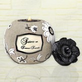 Sisters are Forever Friends Tea Light Holder
