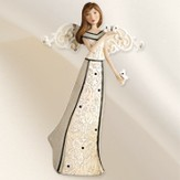 Angel Holding Butterfly Figurine
