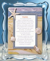 Huellas, Footprints Music Frame, Spanish