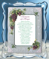Home Blessing Music Frame, Spanish