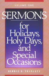 Sermons for Holidays, Holy Days and Special Occasions