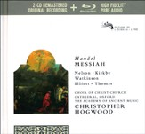 Handel: Messiah 2 CD + BluRay Disc