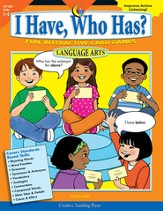I Have, Who Has? Language Arts Grades 1-2