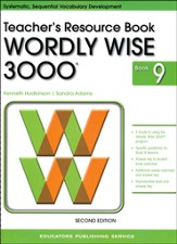 Wordly Wise 3000 Teacher Resource Book 9, 2nd Edition