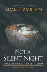 Not a Silent Night: Mary Looks Back to Bethlehem - Large Print Edition