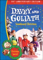 Davey and Goliath's Snowboard Christmas DVD
