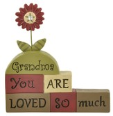 Grandma, You Are Loved So Much, Block Figure