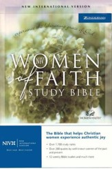 NIV Women Of Faith Study Bible, Paperback  1984