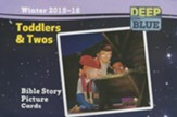 Deep Blue: Toddlers & Twos Bible Story Picture Cards Winter 2015-16