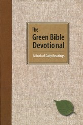 The Green Bible Devotional: A Book of Daily Readings