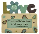 Love, The Lord Bless Thee and Keep Thee, Block Figure