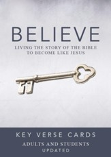 Believe Key Verse Cards: Adult/Student