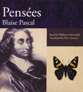 Pensees Unabridged audiobook on CD