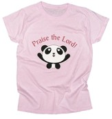 Praise the Lord Shirt, Pink, Small